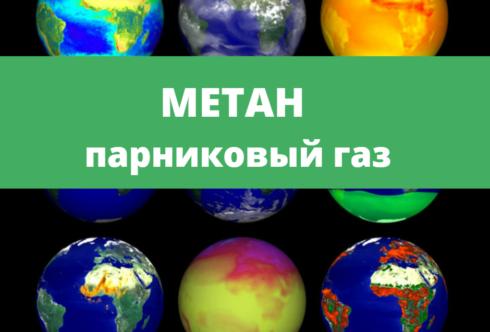 Метан парниковый газ